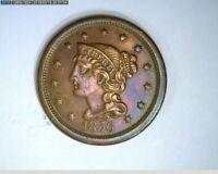 1856 Large Cent Braided Hair ( 8-296 9m/o )