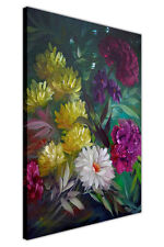 Wild Bouquet Canvas Wall Art Prints Home Deco Pictures Oil Painting Re-Print