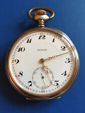 ZENITH vintage pocket Watch, Silver 800, manual winding, !! fantastic!! PERFECT