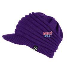 NEW Unisex Winter Visor Beanie Knit Hat Cap Crochet Men Women Ski Warm