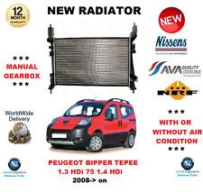 Per Peugeot Bipper Tepee 1.3 HDI 75 1.4 2008> su Radiatore Nuovo * OE Qualità *