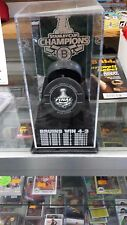 CaseWorks Boston Bruins Stanley Cup Champions Puck Display Case