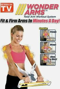 WONDER ARMS-AS SEEN ON TV FIT & FIRM ARMS ORIGINAL TOTAL ARM WORK OUT WONDERARMS