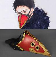 US! Anime Boku No My Hero Academia Overhaul Half Face Mask Cosplay Hallow Prop