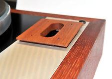 Tonarmboard Base for SME 3009 suits Thorens TD-165 Mahogani Solid Wood - NEW -