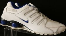 Nike Shox NZ Running VTG 325201-125 White Athletic Training Men's US 12