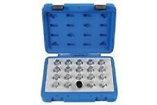 Laser Tools Locking Wheel Nut Key Set - Vauxhall/Opel 20 Pieces - 6863L