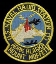 USN Naval Radio Station Adak Alaska Mount Moffett Patch S-20