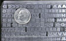 Alphabets Metal Letterpress Type 14pt Twentieth 20th Century Ex Bold   MM53  4#