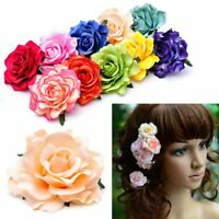 Accessories Bridesmaid Women Party Rose Flower Hairpin Hair Clip Wedding Brooch