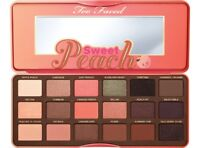 Too Faced Sweet Peach Eyeshadow Palette new in box