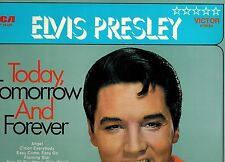 MFD IN GERMANY NM LSP 10220(e) ROCK LP ELVIS PRESLEY  TODAY TOMORROW AND FOREVER