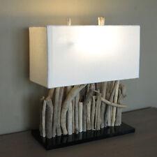 Lámpara de mesa,madera combustible,madera,hecho a mano,aprox. 35x40x16,okawango