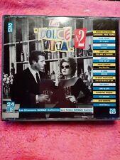 2 CD'S - LA DOLCE VITA N°2 DANCE ITALIENNES  ( TWEEDE-HANDS / USED / OCCASION)