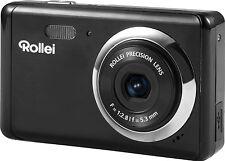Rollei Compactline 83 8,0 MP Kompaktkamera Fotoapparat Digitalkamera schwarz
