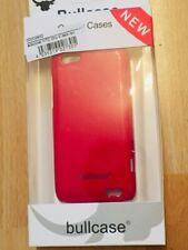Bullcase Backcover für HTC ONE V Dark Red