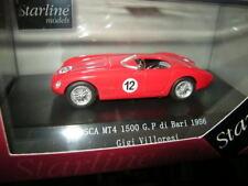 1:43 Starline OSCA MT4 1500 #12 GP di Bari 1956 Gigi Villoresi OVP