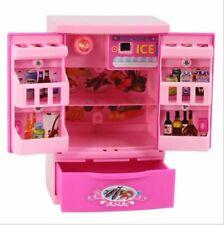 Alimentos Juego Mini Muñeca Barbie Casa De Ensueño Accesorios de Cocina Refrigerador