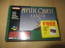 MYSTIC QUEST LEGEND SNES CON SCATOLA VERSIONE PAL Super Nintendo con mappa