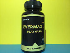 EVERMAX PLAY HARD 90 (CAPSULES) GENUINE SAME DAY DISPATCH