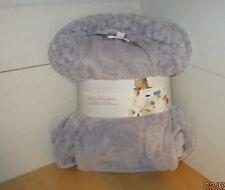 Carole Hochman Women's Faux Fur Trim Soft Plush Fleece Bath Robe Small