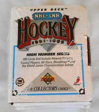 1991-92 Upper Deck Hockey High Number Series Set