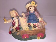 Collectible Vintage Handcrafted Love-Journey-Together Music Box, Marjorie Sarnat