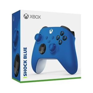 Xbox Wireless Controller - Shock Blue (Series X/S & Xbox One) Official Microsoft