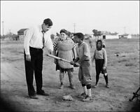 Babe Ruth Photo 8X10 - Teaching Kids 1932 - Buy Any 2 Get 1 Free