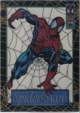 SPIDERMAN ULTRA 94 CLEAR CELL CARD 1 OF 12