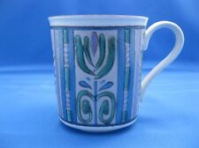 Mikasa Potter's Gallery MK227 Blue Lavender Teal Design Coffee Cup / Mug Nice!