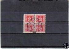 B4410 - LUOGOTENENZA -SEGNATASSE N. 96 - QUARTINA USATA