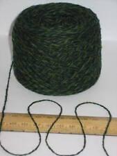50g Green British 100% wool pure wool knitting yarn 2 ply Great for Felting felt