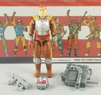 Original 1988 GI JOE CHARBROIL V1 ARAH not complete UNBROKEN figure Cobra