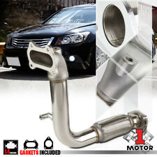 Stainless Steel Exhaust Header Manifold Downpipe for 08-14 Accord/TSX 2.4 I4 K24