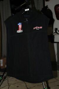 Polartech vest #1 Large Elvis' Place Harley FXR -or- DIE! FXRT EP23991