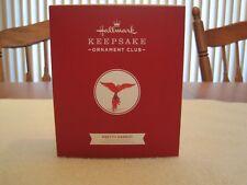 HALLMARK KEEPSAKE ORNAMENT PRETTY PARROT MEMBER EXCLUSIVE BEAUTY OF THE BIRDS