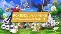 Send You All +550 Pokemon Full Pokedex Ultra Square Shiny Legit 6iv Sword Shield