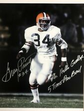 GREG PRUITT CLEVELAND BROWNS 'MR. HELLO GOODBYE' SIGNED 16x20 (OSG COA)