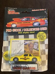 1989 Jerry Eckman Pennzoil NHRA Pro Stock Racing Champions 1/64th Scale