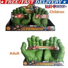 Avengers Hulk Smash Hands Soft Toy Doll Gloves One Pair Party Cosplay Toy Gift
