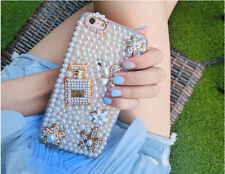 pearls perfume, Bling Sparkle Flowers Phone Case Cover for Various iphone