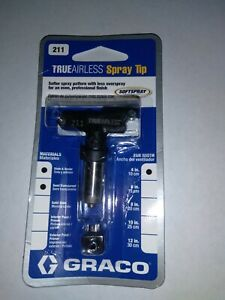 GRACO True Airless Spray Tip # 211 755652822721
