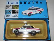 Vanguards Rover 3500 V8 Police Car Hampshire Constabulary Mint/Boxed