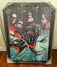 Alex Ross Batman SUPER DELUXE giclee on CANVAS Harley Quinn Joker + DRAWING
