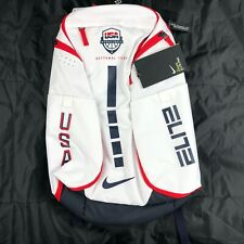 Nike Hoops Elite 2.0 Team USA Basketball Backpack Bag White Navy Red CK1198-100