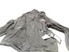 HMK Hooded Tech Shell Men's XL Black/Grey Waterproof Snowmobile Jacket