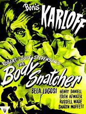 MOVIE FILM BODY SNATCHER BORIS KARLOFF BELA LUGOSI HORROR USA ART POSTER CC6380