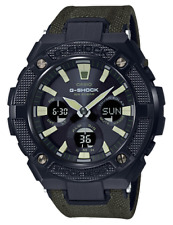 Casio GSTS130BC-1A3 G-Steel Duo Street Style Smart Watch Solar Green RRP$569