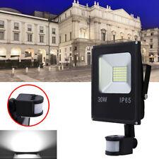 LED Fluter mit Bewegungsmelder Scheinwerfer Strahler Flutlicht 10W -50W